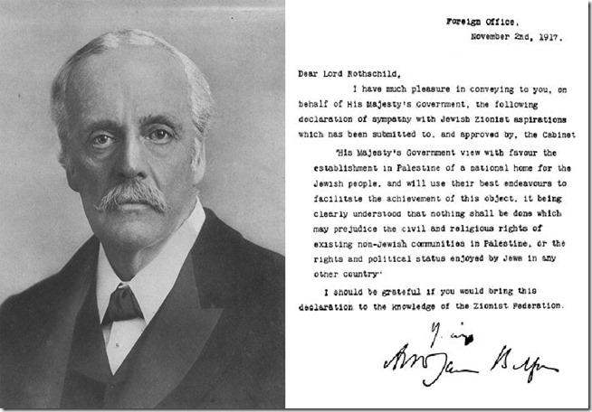 Balfourdeklarasjonen