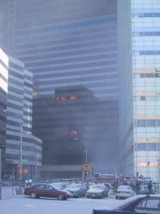 Brann i WTC 7