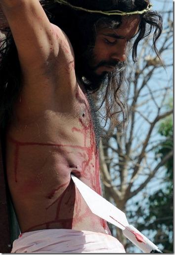 Jesus og spydodden