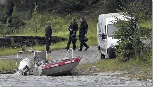Opelen fra Bislet Bilutleie på Utøya