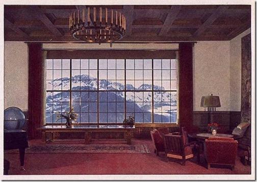 Utsikt fra Berghof