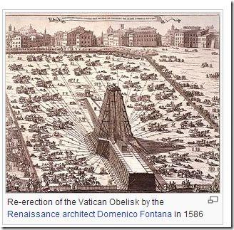 Vatikanets gjenreisning av Obelisken