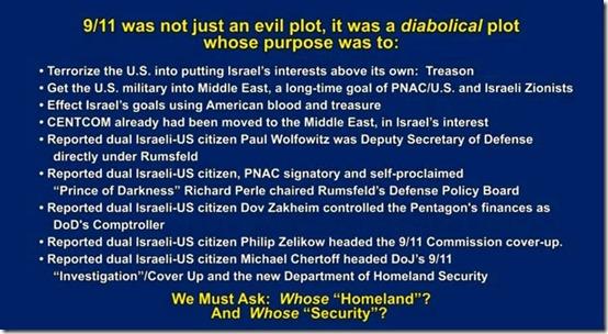 911 wat not just an evil plot, it was a diabolical plot