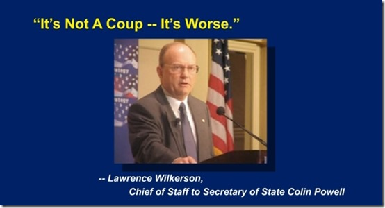 Its not a coup - its worse