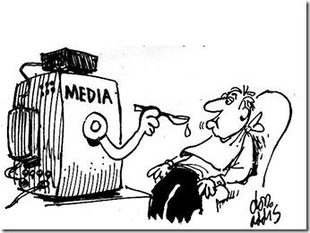MSMs propagandamaskineri gjennom fjernsynet