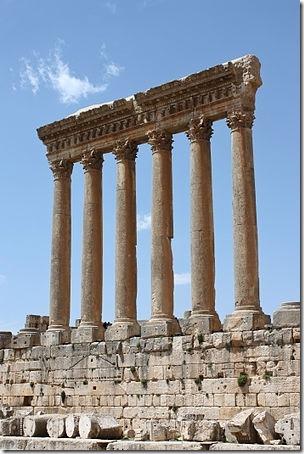 Jupiters tempel i Baalbek