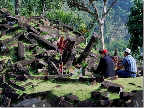 Steinene i Indonesia