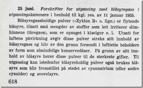 Zyklon B Norge