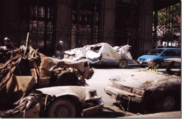 Monsterfasong kaldsmeltet bil 11. september 2001 World Trade Center