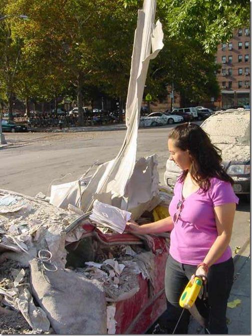 Oppløst bil 11. september 2001 World Trade Center