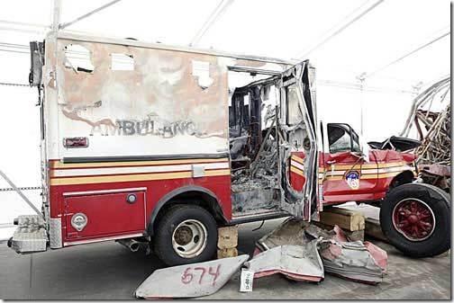 ambulanse 11. september 2001 World Trade Center