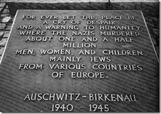 Auschwitz 1,5 millioner