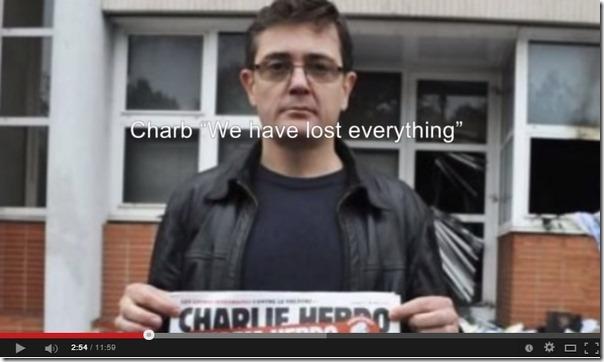 Charlie Hebdo-lokalene 2011 redaktøren