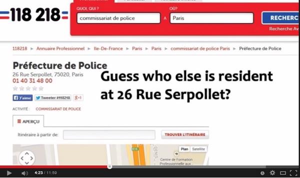 Hvor var Charlie Hebdo-lokalene 14