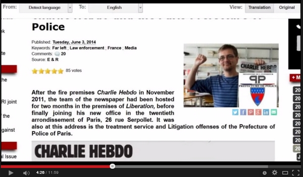 Hvor var Charlie Hebdo-lokalene 15