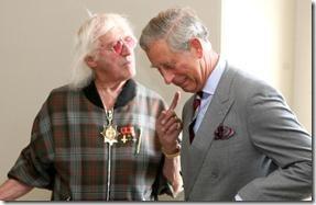 Jimmy-Sevile og Prince-Charles