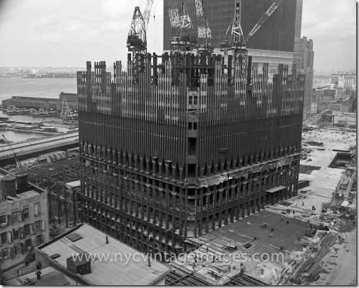 Konstruksjonsbilder World Trade Towers 1