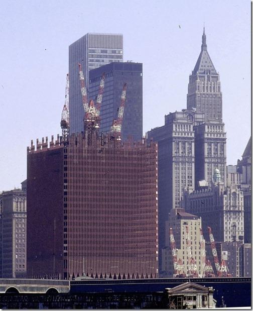 Konstruksjonsbilder World Trade Towers 2