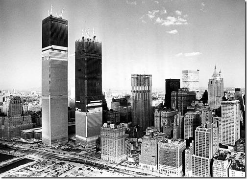 Konstruksjonsbilder World Trade Towers 3