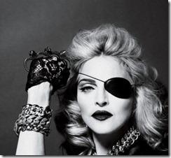 Madonna og Horus' øye