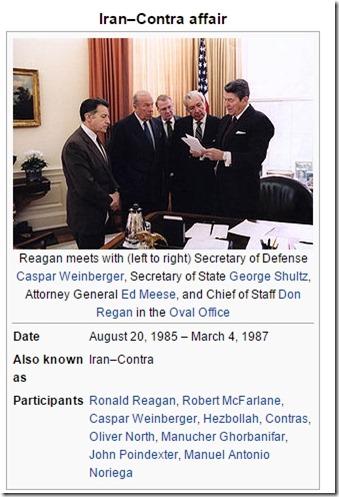 Reagan og Iran-Contras