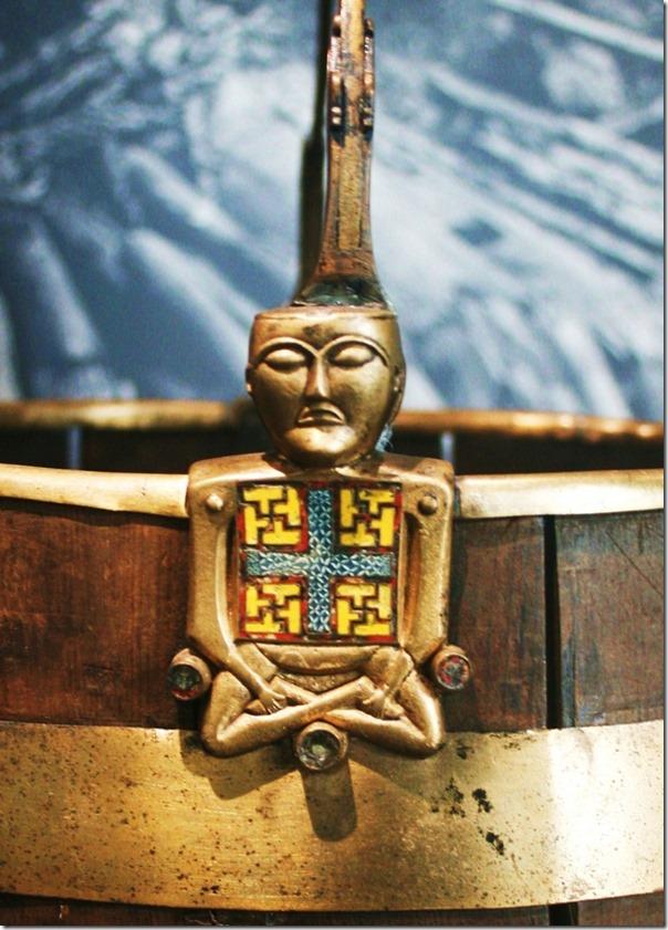 Buddha-figur Osebergskipet