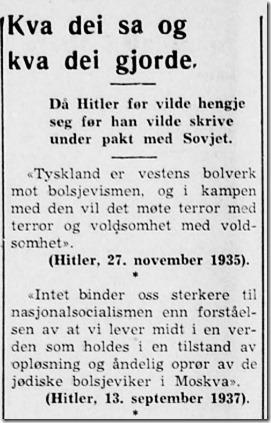 Firda Folkeblad 1939
