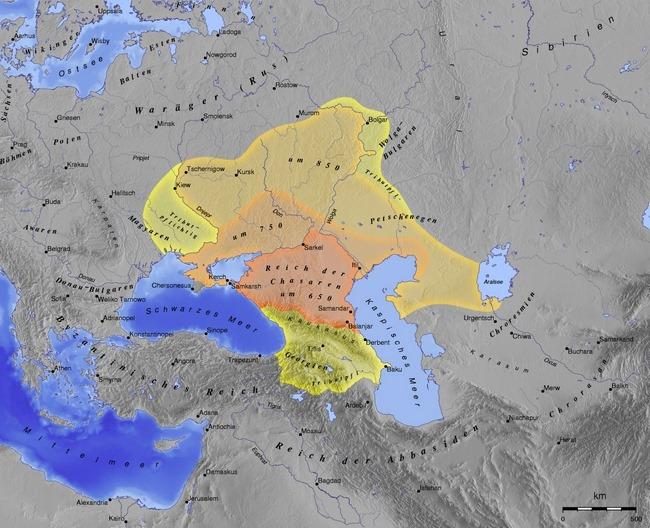 Semittene har historisk base i Midtøsten – khazarene var et mongolsk krigerfolk
