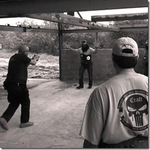 Blackwater-soldater trener
