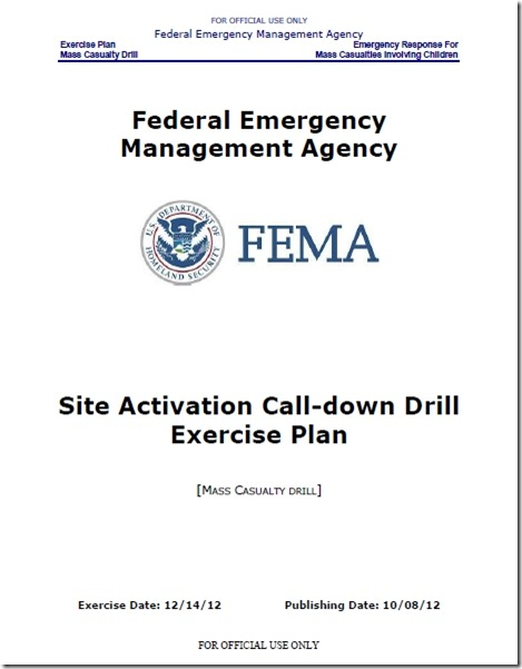 FEMA-rapporten Sandy Hook 2012 1