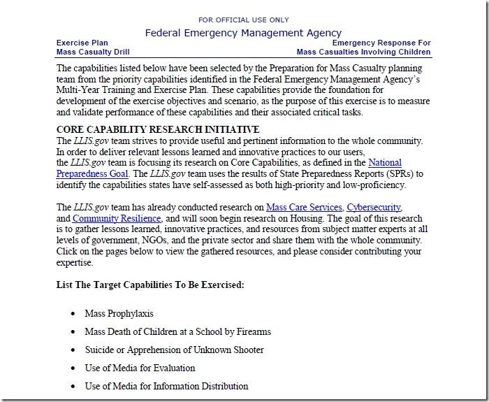 FEMA-rapporten Sandy Hook 2012 2