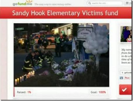 Sandy Hook-ofrenes støtteside 1