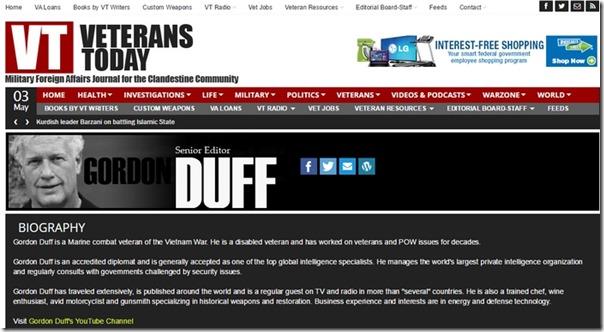 Gordon Duff på VT 3. mai 2015