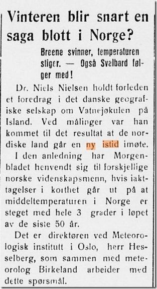 Hesselberg og Birkeland Nordlands Avis 1