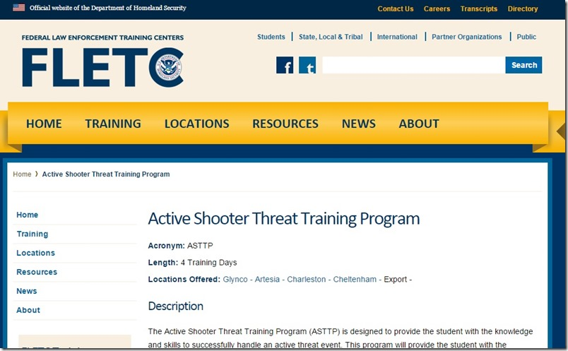 Active-Shooter-Threat-Training-program