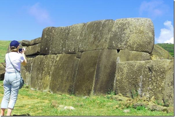 Mur på Påskeøya