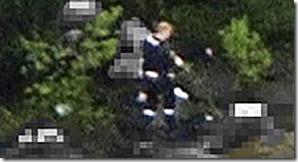 NRKs helikopterbilder av Anders Behring Breivik på Utøya