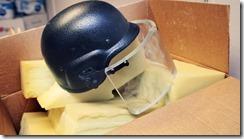 ABBs hjelm med visir