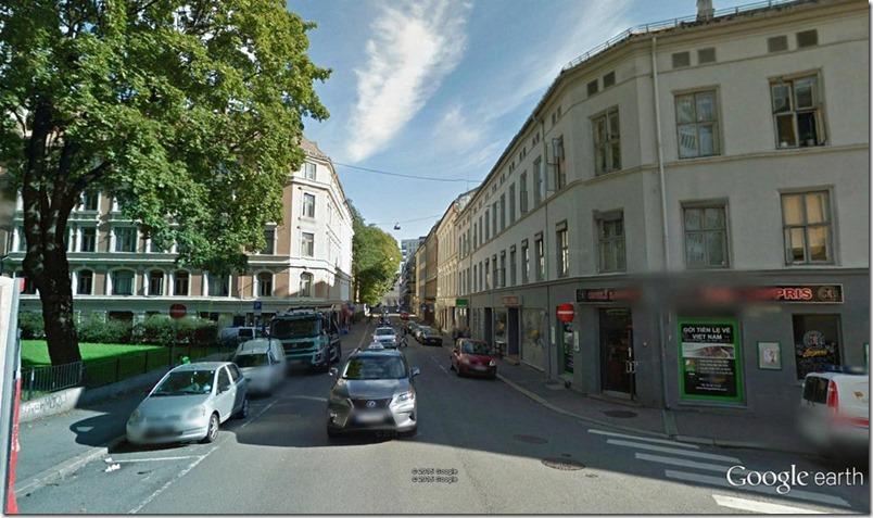 Møllergata mot Hausmannsgate