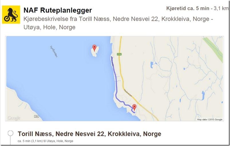 Nesveien til Utøya
