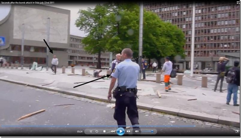 Det konfronterende vitnet og han som fant Mirakeljenta på vei tilbake til bilen