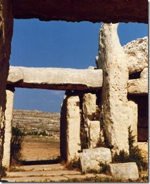 Megalittisk byggekunst på Malta 3