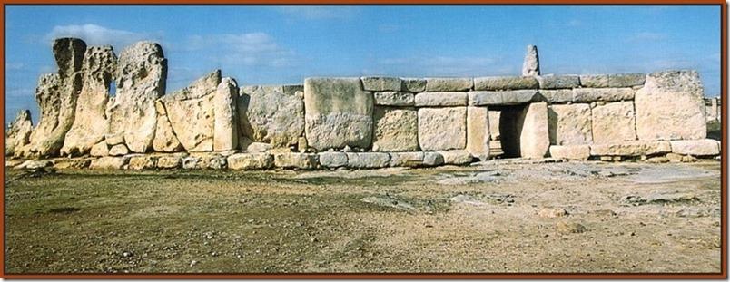Megalittisk byggekunst på Malta 6