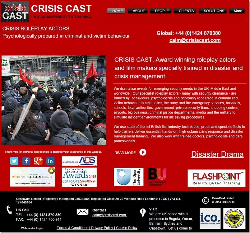 Crisis Cast kriseskuespillere 1