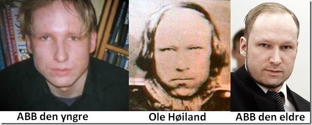 Ole Høiland og Anders Behring Breivik