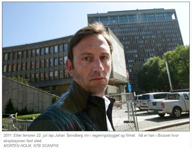 Tandberg bilde fra regjeringskvartalet