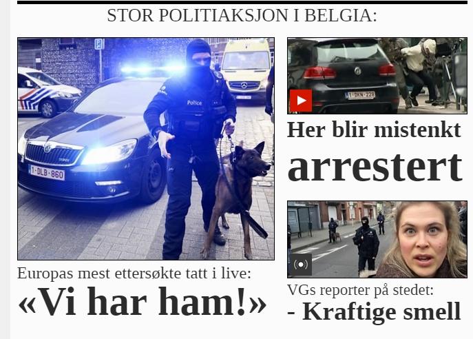 VGs terrordekning belgia 2016