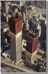 Bilder fra byggingen av World Trade Towers 15