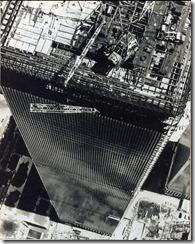 Bilder fra byggingen av World Trade Towers 16