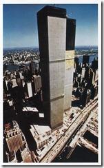 Bilder fra byggingen av World Trade Towers 17